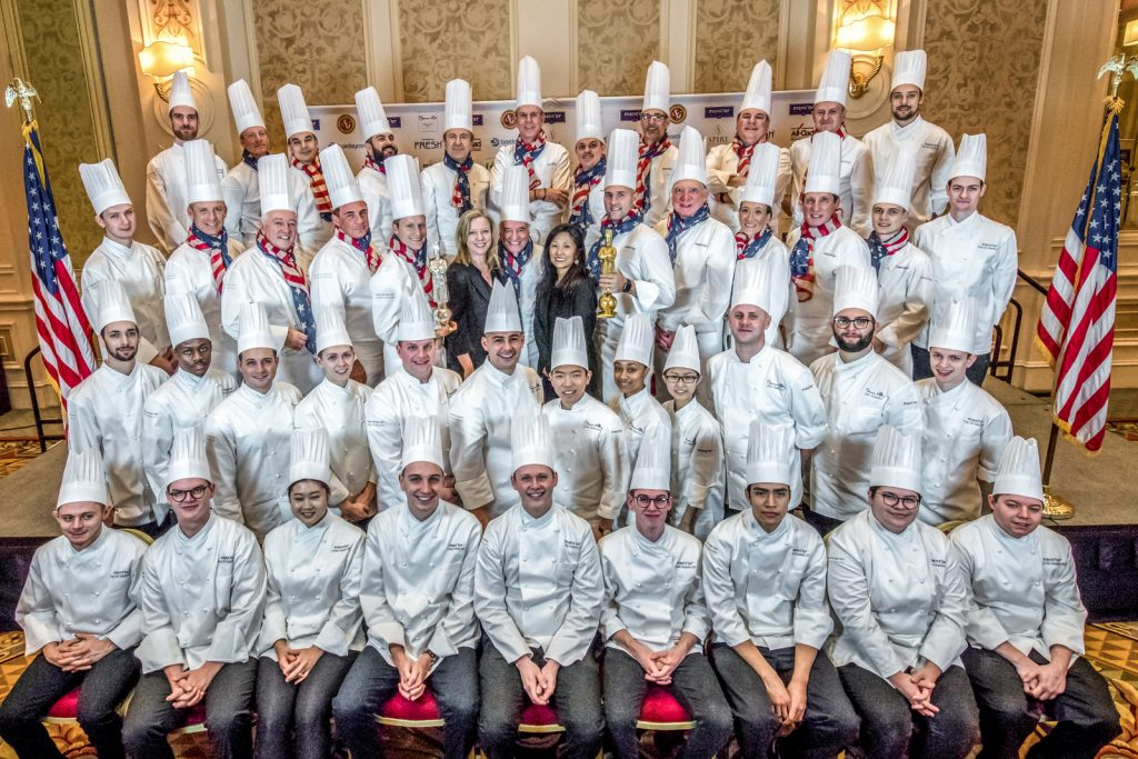 Group Chef Photo with YCC, Commis, Team USA Competitors2_PhotoCredit_KenGoodman