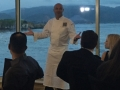 Chef Bocuse welcomes guests