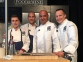 Chefs Harrison Turone, Mathew Peters, Jerome Bocuse, and Philip Tessier