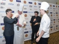 Commis Brendan Scott Accepts Medal, All Clad_Photo_Credit_BryanSteffy