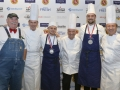Young Chef Joe Maggio with Farmer Lee, Chefs Keller, Soltner, Boulud_Photo_Credit_BryanSteffy