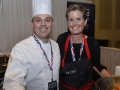 All Clad Sponsor Booth, Chef Kaysen_Photo_Credit_BryanSteffy