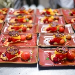10th Course: A Hot & Hot Tomato Salad-Inspired Dessert