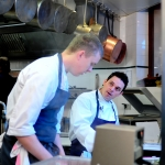 Gavin Kaysen and Tom Allan