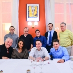 Roland Passot, Corey Siegel, Monica Bhambhani, Jean-François Suteau, Gavin Kaysen, Chris Kocsis, Pierce Lydon, Richard Rosendale, and Daniel Scannell..    .Le Nord.Lyon, France .(January 24, 2013)