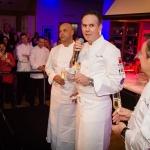 Chefs Jerome Bocuse, Thomas Keller and Daniel Boulud