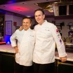 Chefs Daniel Boulud and Thomas Keller