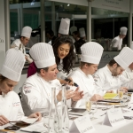Judges Table at the Bocuse d'Or 2010.