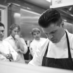 Richard Rosendale with Gavin Kaysen, Grant Achatz, and Gabriel Kreuther.  The Greenbrier  White Sulphur Springs, West Virigina (July 23, 2012)