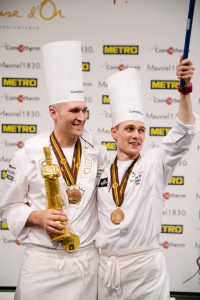 Photo Credit David Escalante_ Head Chef Mathew Peters and Commis Harrison Turone_ with Gold